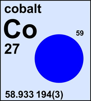 Image result for cobalt atomic weight